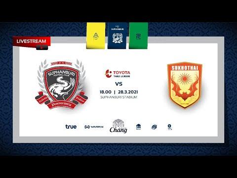 MainStand X SuphanburiFC | Live | สุพรรณบุรี เอฟซี v สุโขทัย เอฟซี 28/03/21