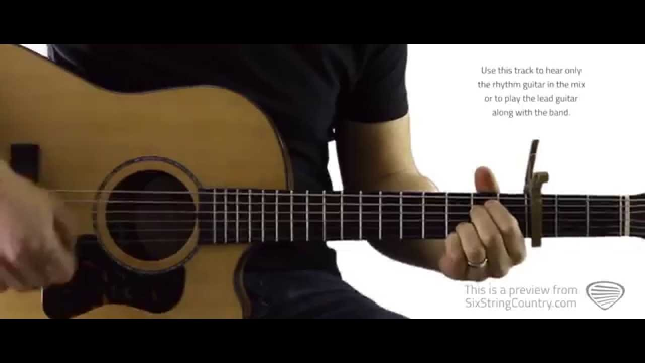Hope You Get Lonely Tonight Guitar Lesson And Tutorial Cole