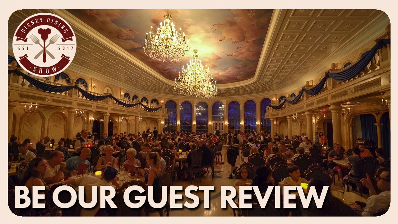 Be Our Guest Dinner Review Disney Dining Show 08 16 17
