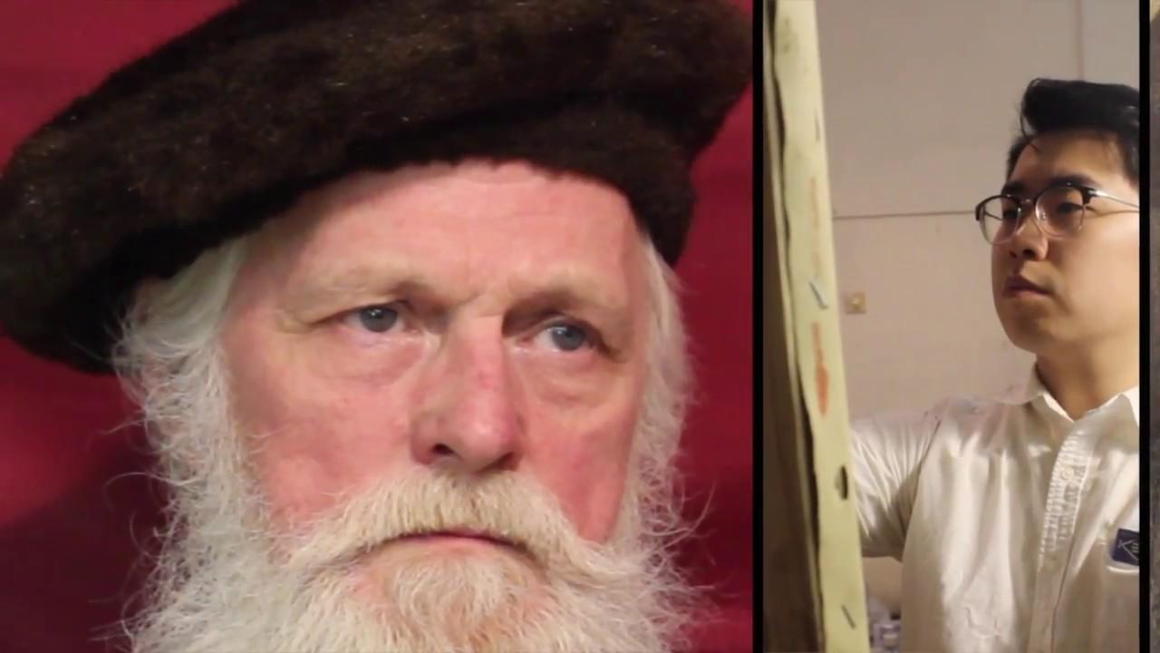 WANHUAART|素描肖像《戴帽子的亚历山大》Sketch portrait.Портрет эскиза