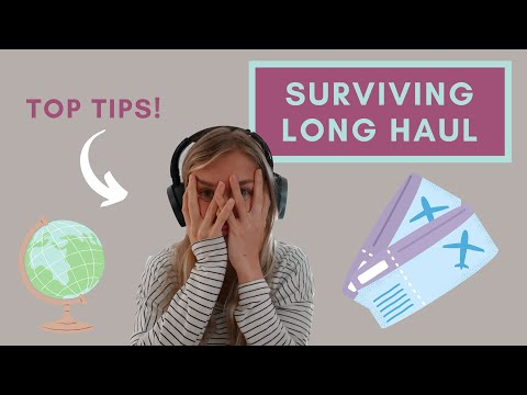 TIPS FOR SURVIVING LONG HAUL FLIGHTS in Economy Class