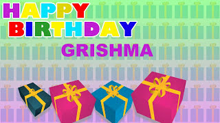 Grishma - Card Tarjeta_479 - Happy Birthday