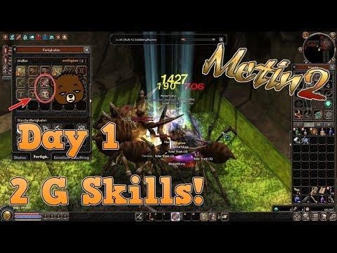 Metin2 Titania | Day 1 Tryhard Modus 2 G Skills | Let´s Play Metin2.de mit Vossi