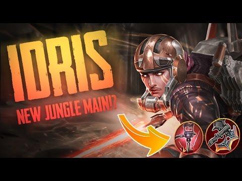 Vainglory Gameplay - Episode 287: MY NEW JUNGLE MAIN!! Idris |WP| Jungle Gameplay [Update 2.1]