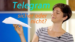 Wie sicher ist der Messenger Telegram?