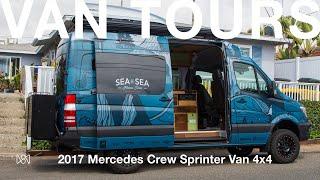 Van Tours: Skye Walker and His 2017 Mercedes Crew Sprinter Van 4x4