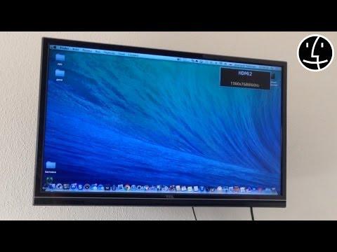 Вывод изображения с вашего IMac, MacBook, Mac Pro на телевизор. HDMI To DisplayPort Adapter