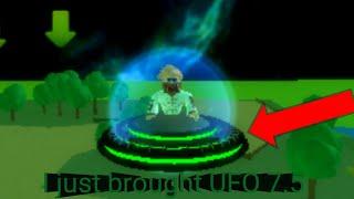 Roblox alien simulator part 9: I brought UFO 7.5