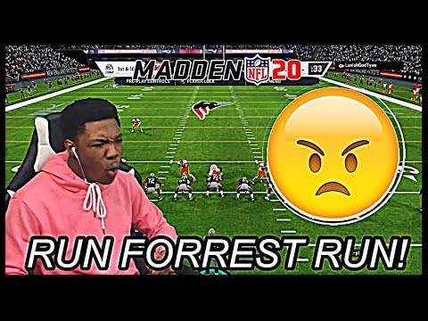 "Madden 20 Trash Talker Gets Buck! 😤 | ""Bralen Running! - He Forrest Gump"" 🏃🏾‍♂️ 