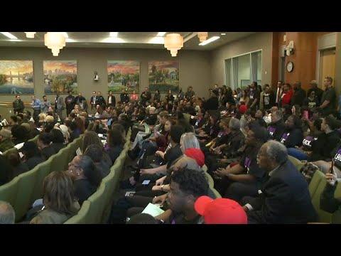RAW VIDEO: Stephon Clark's Brother Interrupts Sacramento City Council Meeting