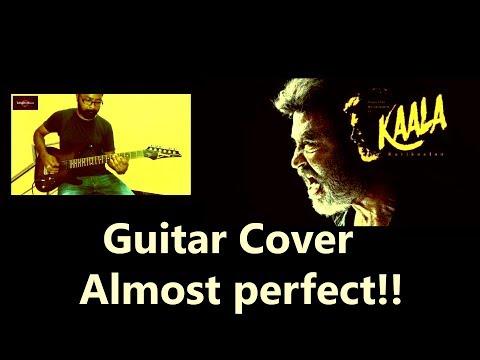 Kaala | Katravai Patravai guitar cover (Almost Perfect) | Kaala Theme teaser