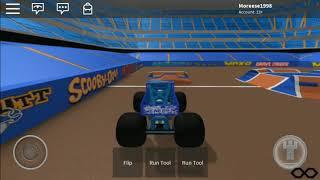 Blue Thunder Roblox Monster Jam Arena