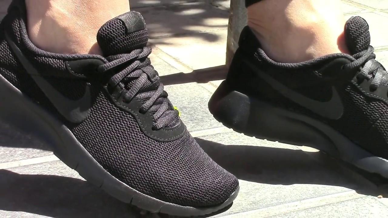 nike mujer zapatillas running negras