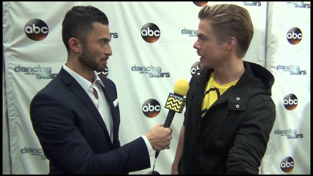Dancing with the Stars - Derek Hough Interviewed by ...