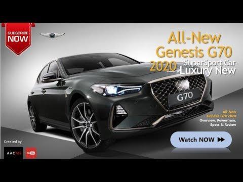 All New 2020 Genesis G70 Luxury, Elegant & Beautiful Sport Car Overview