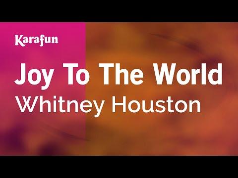 Karaoke Joy To The World - Whitney Houston *