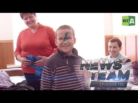 A Return to Syria & Medical Disaster in Donetsk – News Team Ep.102