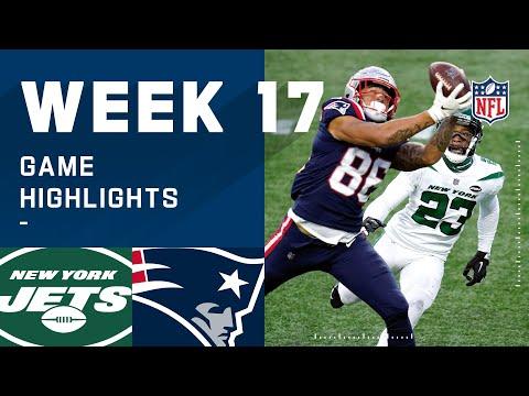 Jets vs. Patriots Week 17 Highlights | NFL 2020