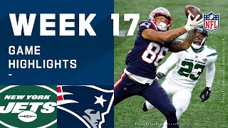 Jets vs. Patriots Week 17 Highlights