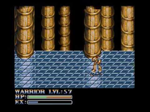 Myths and Dragons Msx2 + v9990. Short gameplay with the Warrior