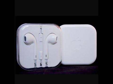 Apple Iphone 5s 6s Earpods Earphones Remote Mic