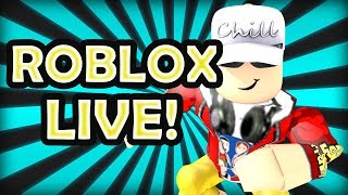 Roblox Live Stream - Cheeseburger Charlie Plays Roblox Games with You Awesome People!