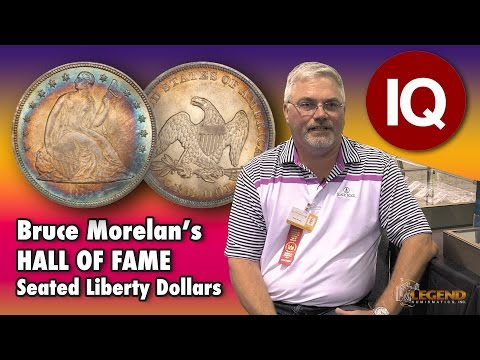 CoinWeek IQ: Bruce Morelan's Hall Of Fame Liberty Seated Dollar Collection - 4K Video