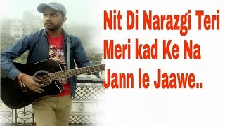NARAZGI | Aarsh Benipal | Rupin Kahlon | Guitar cover| chords | lesson|