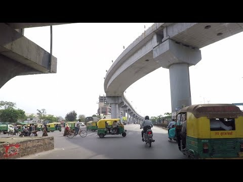 Driving In Ahmedabad (Narol-Naroda Road) - Gujarat, India