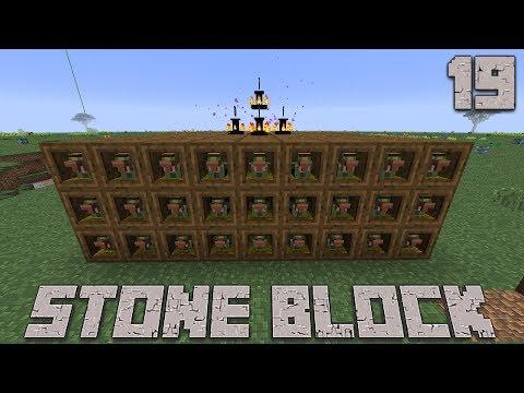 石だけの世界で地下生活Part19 Minecraft【ゆっくり実況】StoneBlock