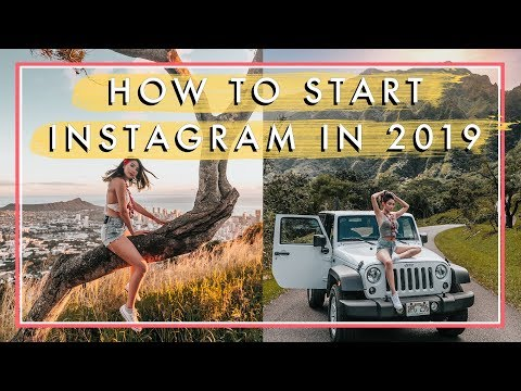 How To START Instagram in 2019 | Starting IG in 2019 by an Influencer