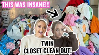 EXTREME CLOSET CLEAN OUT!!!