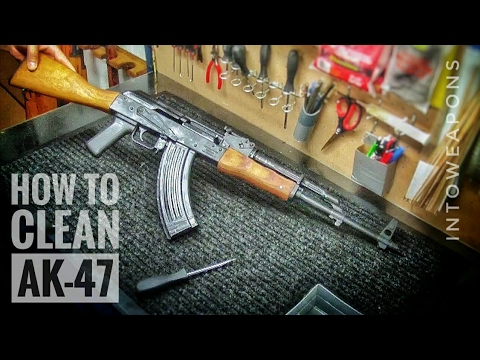 How to Clean an AK-47 Rifle  &  AK Trigger Group Removal