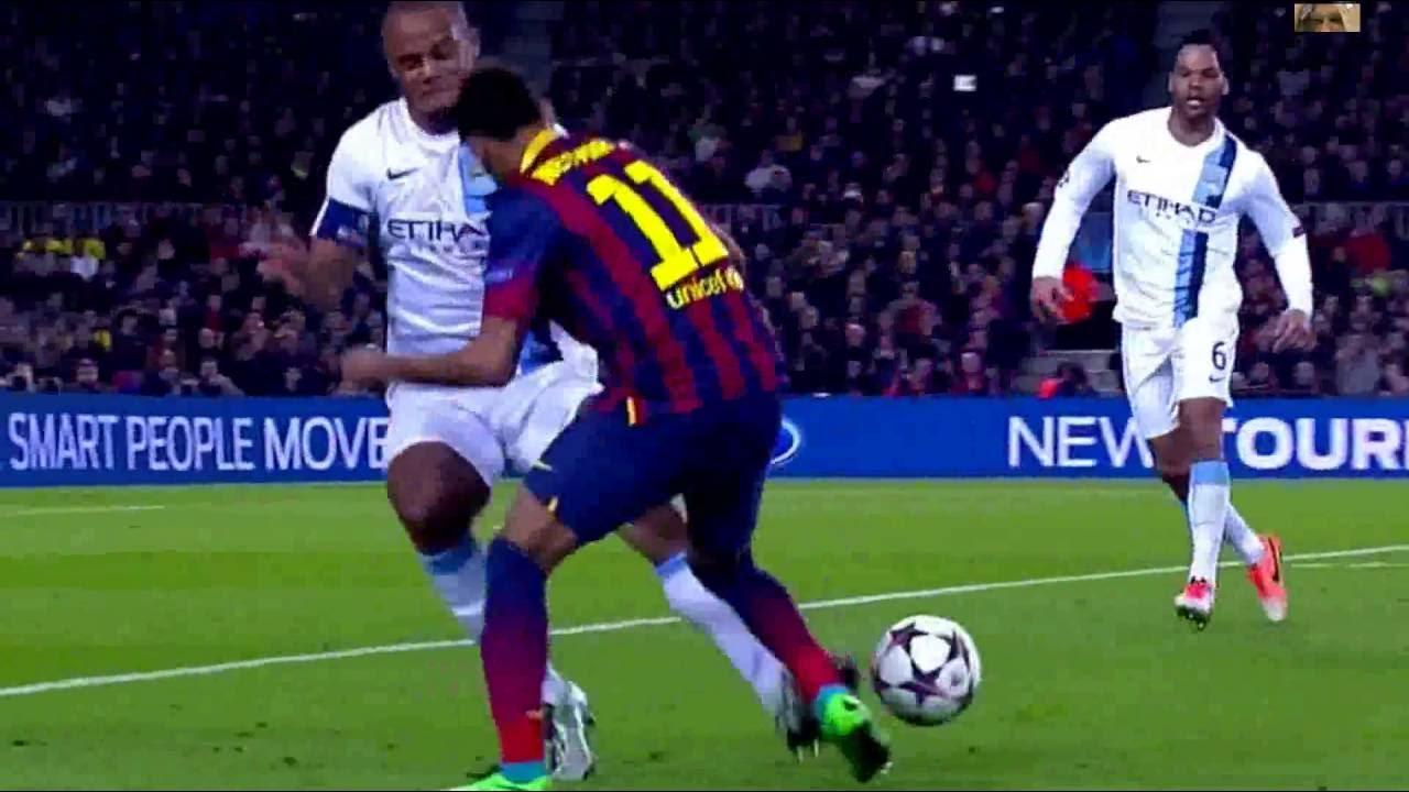 Download Neymar  Jr  vs Manchester City UCL Home 2013 14 HD 1080i