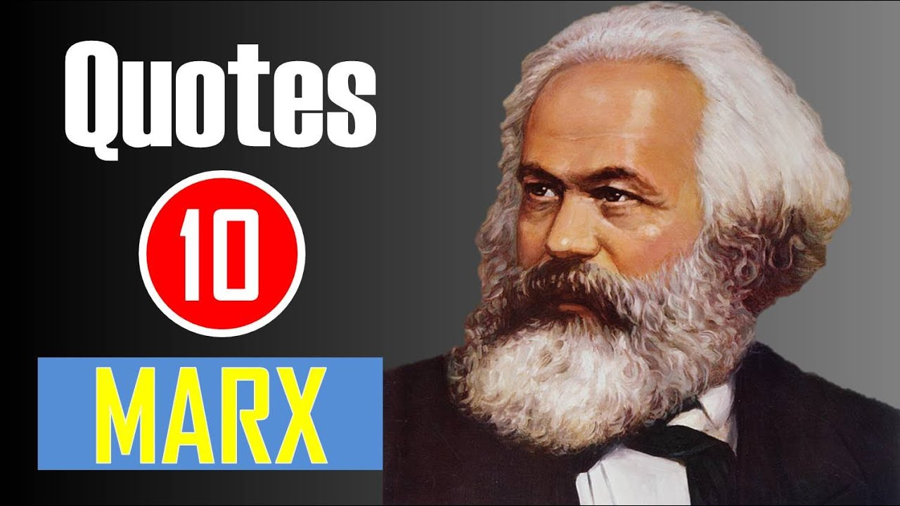 【10 Quotes】Karl Marx - Religion is the opium of the masses ...