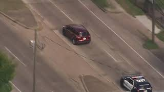 RAW VIDEO: 2 suspects arrested after high-speed chase through NE Houston