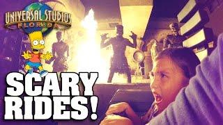 SCARY RIDES at UNIVERSAL STUDIOS ORLANDO!