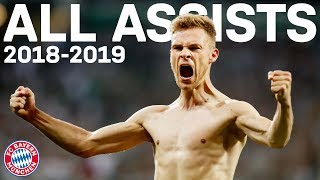 Joshua Kimmich - All Assists for FC Bayern in 2018/19