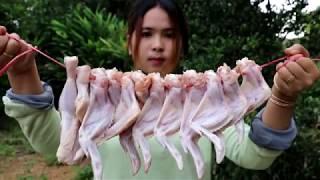 Yummy Fried Chicken Wings  Recipe  Beautiful Girl Cooking