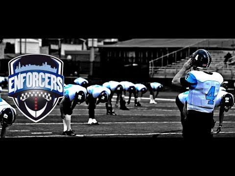 The CPD video Series Presents: CPD Enforcers Vs. The CFD Blaze, charity football game.