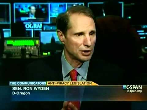 Wyden Talks Protect IP/ SOPA on C-SPAN
