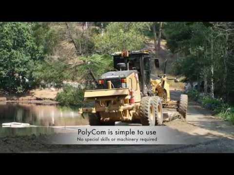 Demonstration Video On Road Maintenance, Mining And Civil Construction With PolyCom