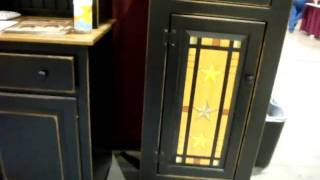 861 Heritage Pine Collection Jelly Cabinet