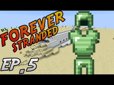 Minecraft: Modded Survival | Forever Stranded | Ep. 5 - GETTING COOL LIKE SCHOOL