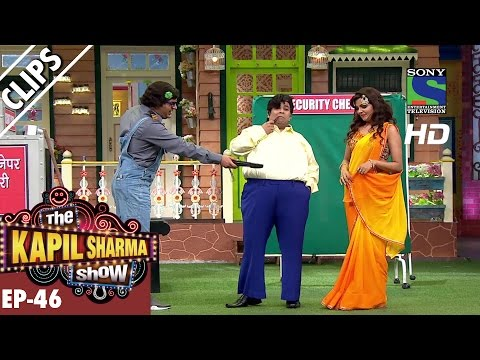 Couple seeking security from Thoko Security Agency - The Kapil Sharma Show - Ep.46 -25th Sep 2016