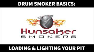 How to light your Hunsaker Drum Smoker