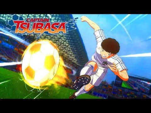 CAPTAIN TSUBASA RISE OF NEW CHAMPIONS Gameplay Demo Toho Vs Nankatsu FULL MATCH - No Commentary