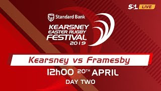 Kearsney College vs Framesby - Kearsney Easter Rugby Fest 2019