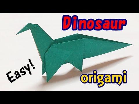 Origami: Dinosaur Velociraptor - YouTube | 360x480