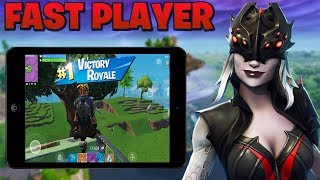 Fortnite Mobile Player on iPad / High Kill Games / (179+ Wins)